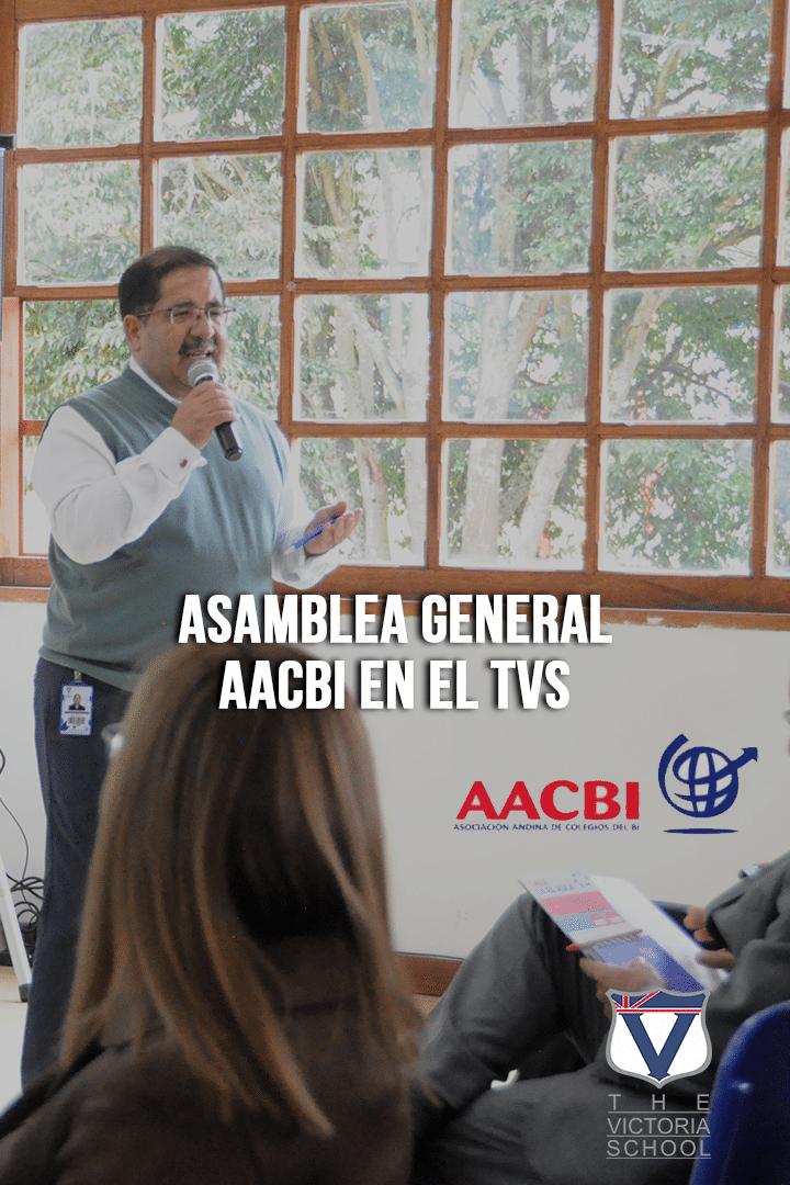 ASAMBLEA GENERAL AACBI EN EL TVS