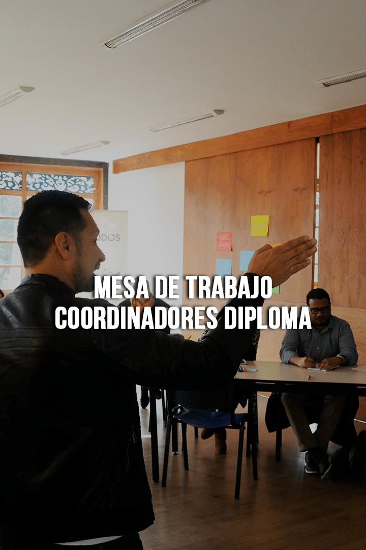 Mesa de trabajo Coordinadores Diploma
