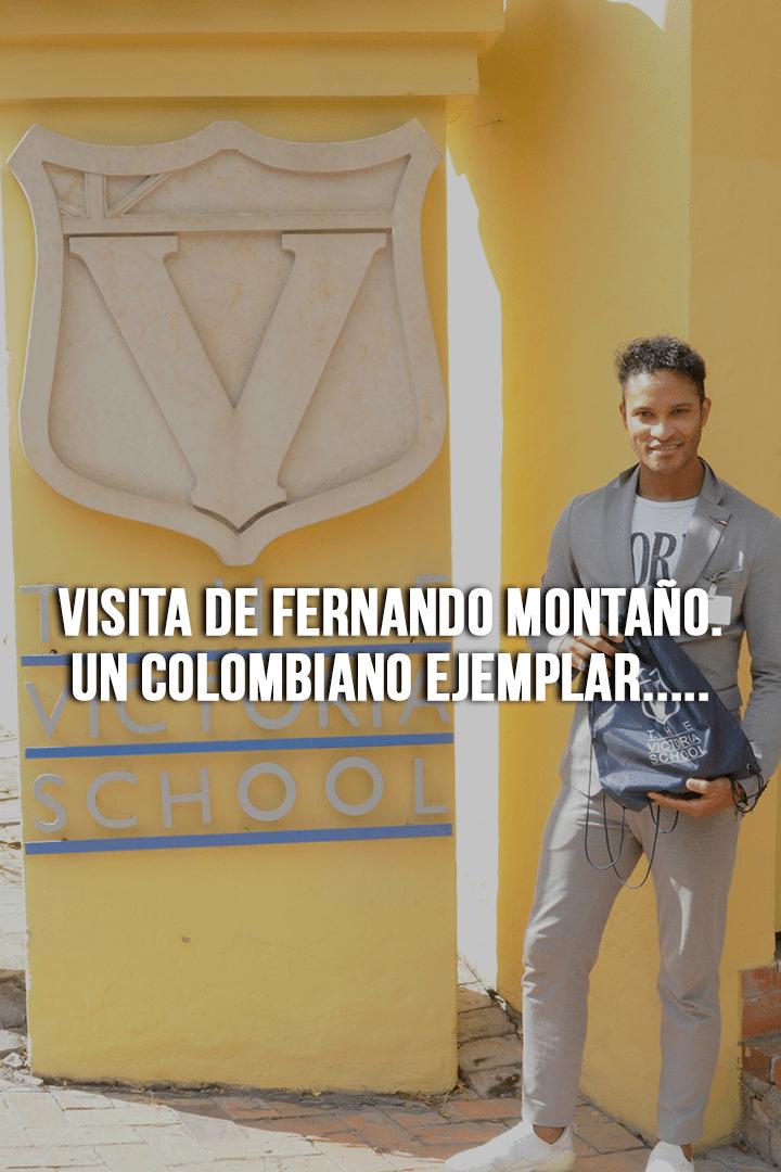 Visita de Fernando Montaño. Un Colombiano ejemplar